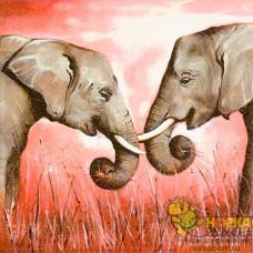 """Салфетка для декупажа """"Слоны"""""""