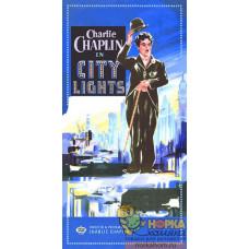 """Салфетка для декупажа """"Чарли Чаплин-Огни большого города"""""""