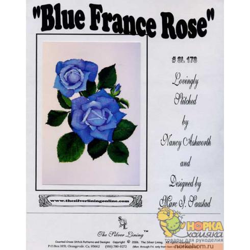 Blue France Rose