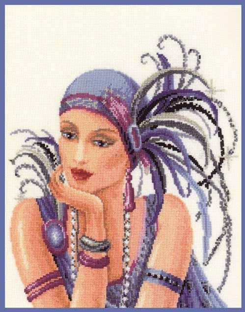 Lady in Lilac