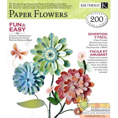 Набор для создания бумажных цветов