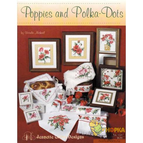 Poppies and Polka-Dots