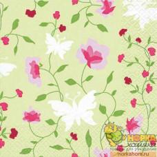 """Салфетка для декупажа """"Красивые цветы"""""""