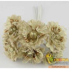 Букет золотых цветов I