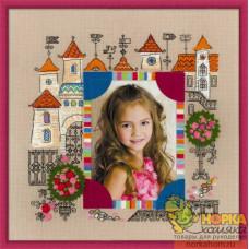 """Панно для фотографии """"Замок принцессы"""""""