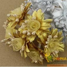 Букет золотых цветов II