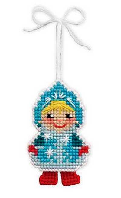 """Новогодняя игрушка """"Снегурочка"""""""