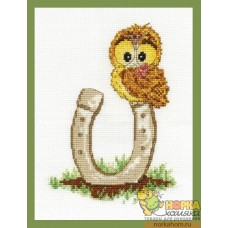 Ollie Owl with Lucky Horseshoe