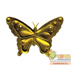 "Пайетка ""Бабочка"" (золотая)"