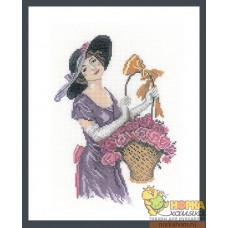 Прелестная цветочница