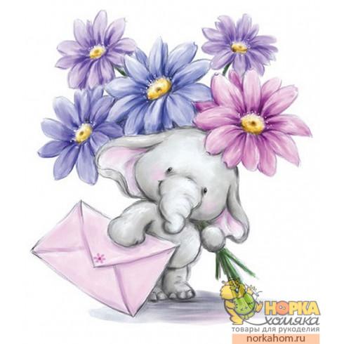 "Штампик ""Bella with Flowers"""
