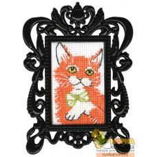 Рыжий котик (с рамкой)