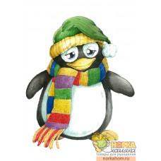 """Войлочное полотно """"Пингвиненок"""""""