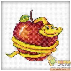 Змейка с яблоком