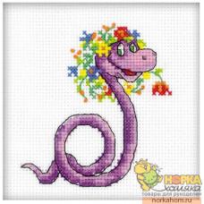 Змейка с венком