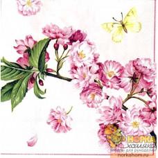 """Салфетка для декупажа """"Цветы вишни"""""""