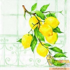 "Салфетка для декупажа ""Лимонное дерево"""