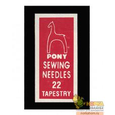 Иглы Pony № 22 (25шт.)