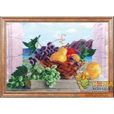 Груши с виноградом