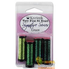 Very Fine #4 Braid (оттенки зеленого)