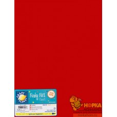 Листовой войлок (красный)