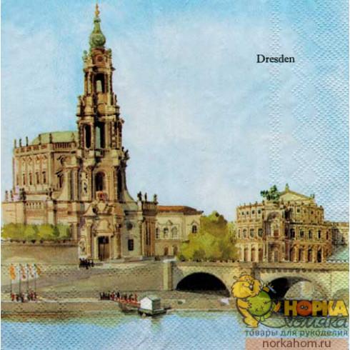 "Салфетка для декупажа ""Дрезден"""