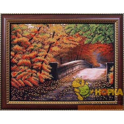Осенний мостик