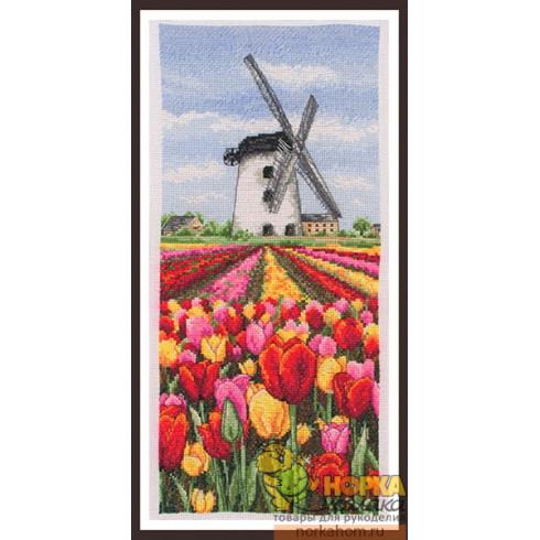 Dutch Tulips Landscape