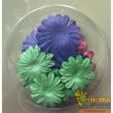 Набор бумажных цветов 2