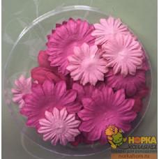 Набор бумажных цветов 4