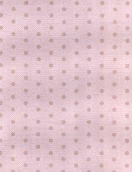 "Дизайнерская канва Аида 14 ""Бежевый горох на розовом"" (30 х 40)"
