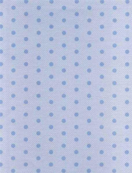 "Дизайнерская канва Аида 14 ""Синий горох на голубом"" (30 х 40)"