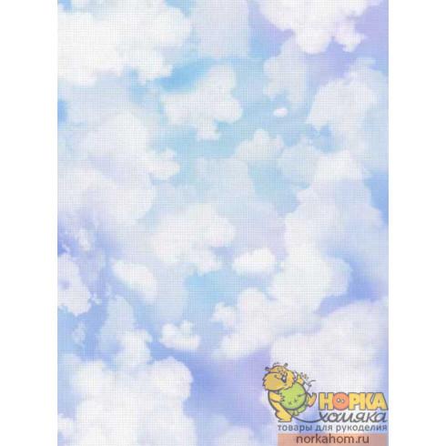 "Дизайнерская канва Аида 14 ""Облака"" (30 х 40)"