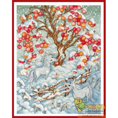 Сказка зимних единорогов