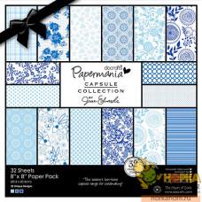 """Набор бумаги """"Burleigh Blue"""""""