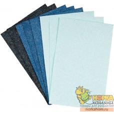 "Набор бумаги с микроблестками ""Burleigh Blue"""