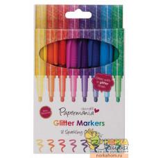 Набор маркеров с микроблестками (8 шт.)