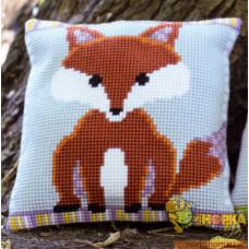 """Подушка """"Brown and Purple Fox"""""""