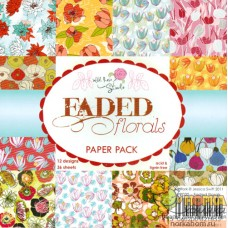 """Бумага для открыток """"Faded Florals"""""""