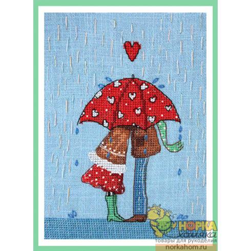 Сердечный зонт