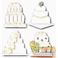 "Стикеры ""Wedding Cake"""