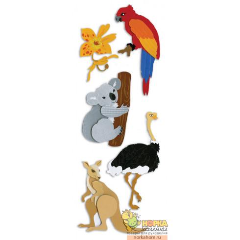 """Стикеры """"Australian Animals"""""""
