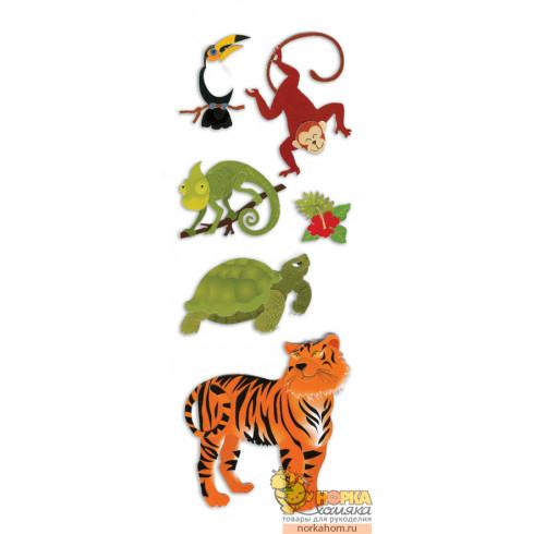 """Стикеры """"Jungle Animals"""""""