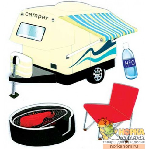 "Стикеры ""Camper Hitch"""