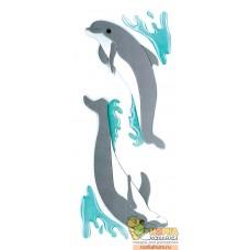 "Стикеры ""Dolphins"""