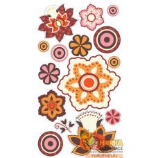 """Стикеры """"Vintage Flowers"""""""