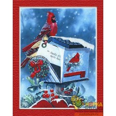 Рождественские кардиналы
