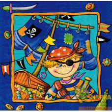 "Салфетка для декупажа ""Пират"""
