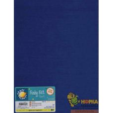 Листовой войлок (синий)