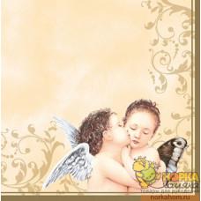 "Салфетка для декупажа ""Поцелуй ангела"""